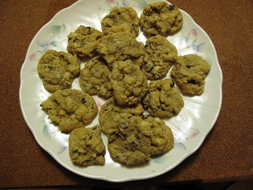 New York Chocolate Chip Cookies