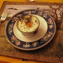 Recipe Smoked Salmon and Poached Egg Souffle - mydish