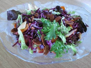 Crunchy Red Cabbage Salad
