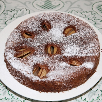 Recipe Chocolate Hazelnut Pear Cake - mydish