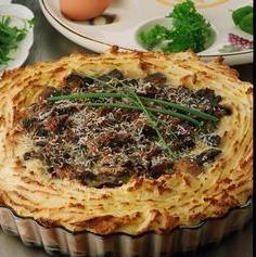 Recipe Potato and Mushroom Pie - mydish