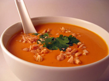 Claire's Sweet Potato and Cumin Soup