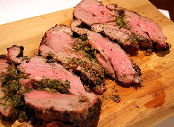 Recipe Rosemary Honey Roast Leg Of Lamb - mydish