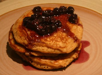 Recipe Wheat Germ Pancakes - mydish