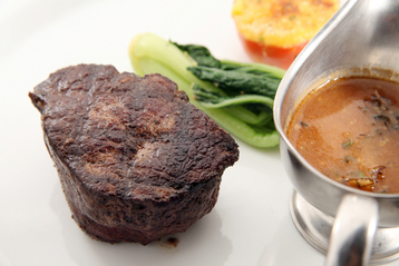 Grilled Beef Tenderloin & Escarole recipe | MyDish