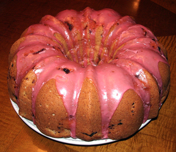 Recipe Rhubarb & Lemon Bundt Cake - mydish