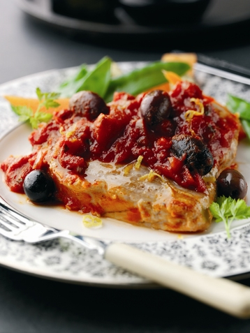 Recipe Taste Of Italy Tomato & Chilli Tuna Steaks - mydish