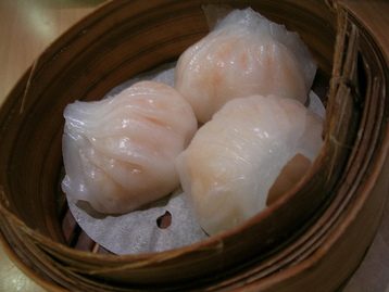 Shrimps and Scallops Dumplings
