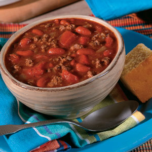 Beef and Beans Soup