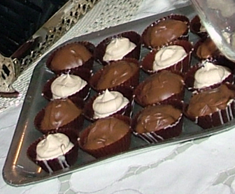 Chocolate Bailey's Cups