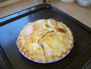 Butter Pie (a Potato and Onion Pie)