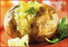 Recipe Jacket Potato With A Delisious Filling - mydish