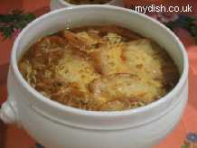 Recipe French Onion Soup with Champagne - mydish