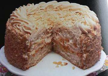 Coffee Cream Gateau