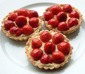 Strawberry Tarts recipe | MyDish