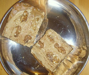 Candlebridge Bakery Original Coffee Cream Walnut Fudge Squares