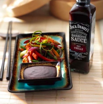Hot and Spicy Stir Fry With Jack Daniel's Sauce