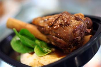Recipe Apricot-braised Lamb Shanks - mydish