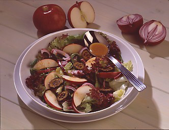 Apple & Walnut Salad with A Port & Mustard Dressing