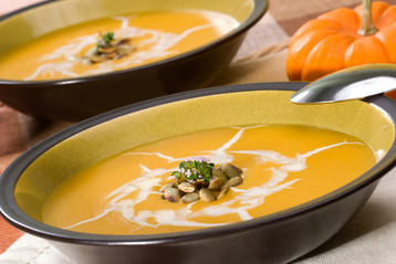Autumn Gold Butternut Squash Soup