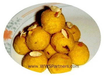 Besan Laddu (chickpea Flour Sweet Balls) recipe | MyDish