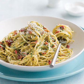 Recipe Low-fat Carbonara - mydish