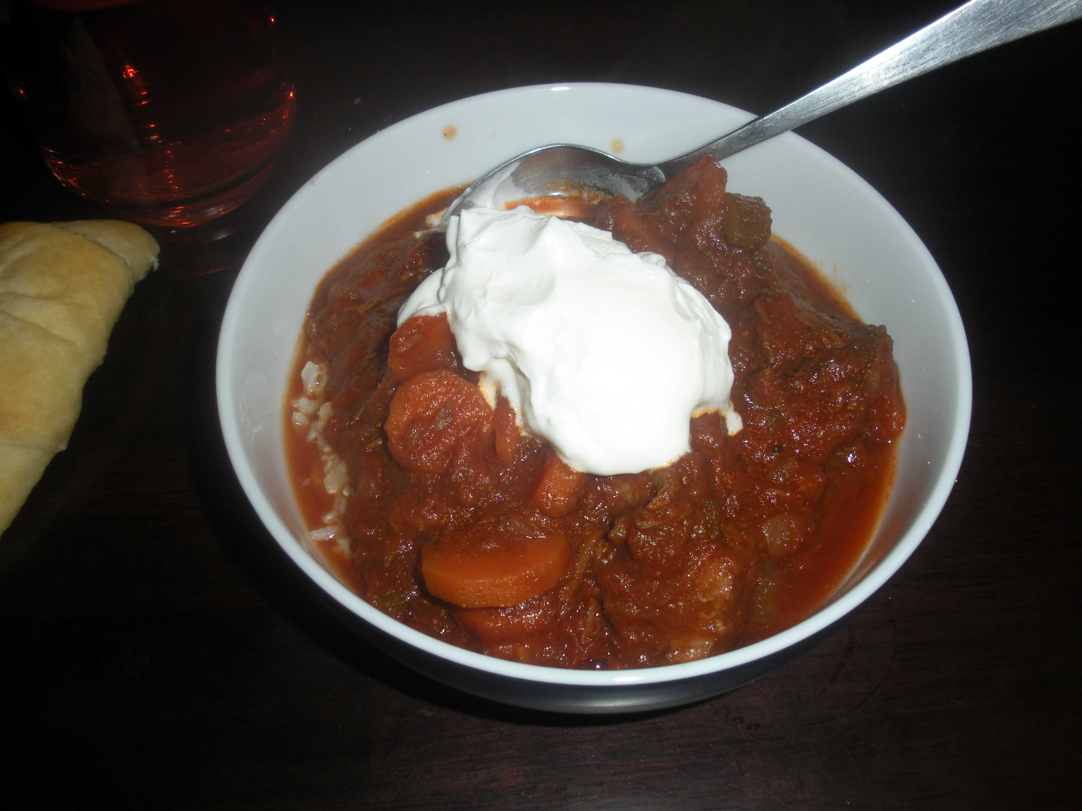 slow cooker left overs chicken and tomato stew recipe mydish On partridge stew slow cooker