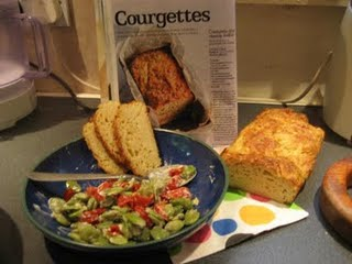 Cheese and Courgette Loaf