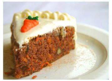 Carrot Cake with Passion Fruit