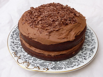 Recipe fabulous chocolate sponge cake mydish for Chocolate sponge ingredients