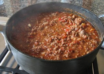 Recipe Dudsie's Awesome Beef chilli - mydish