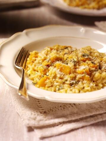 Clover Roast Pumpkin Risotto