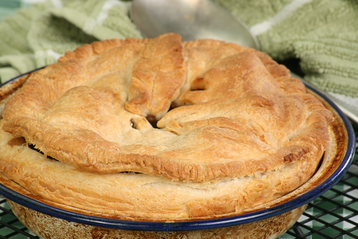 Recipe Steak & Ale Pie with Stilton Crust - mydish