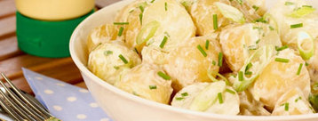 Recipe Tasty Potato and Spring Onion Salad - mydish