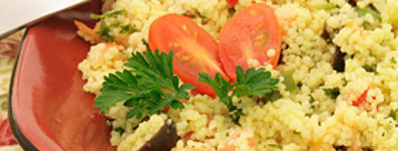 Couscous with Wok-fried Vegetables