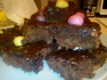 Easter Chocolate Fudge Brownies