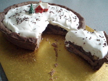 Recipe Chocolate Mousse, Peppermint Thins Tart - mydish