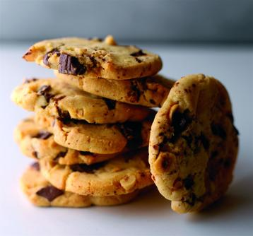 Hazelnut and Chocolate Chunk Cookies