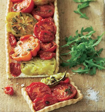 Roast Tomato, Garlic and Thyme Tart