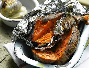 Spiced Sweet Potatoes: Campfire Recipes