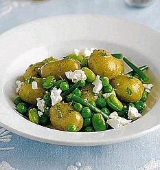 Beans and Potato Salad