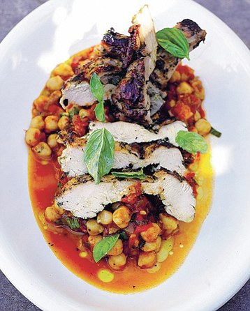 Jamie Oliver's Chicken On Chickpeas