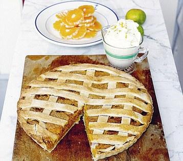 Jamie Olivers Sweet Potato Pie