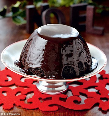 Nigella Lawson's Chocolate Pudding For Christmas Pudding Haters