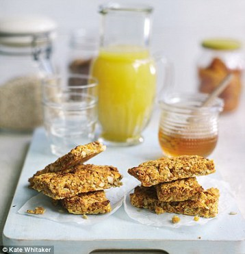 Gino D'Acampo's Breakfast Bars