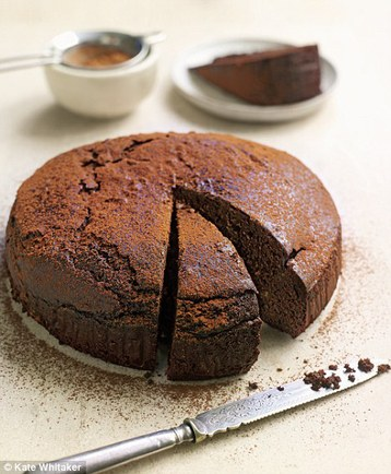 Recipe Gino D'Acampo's Chestnut and Chocolate Cake - mydish