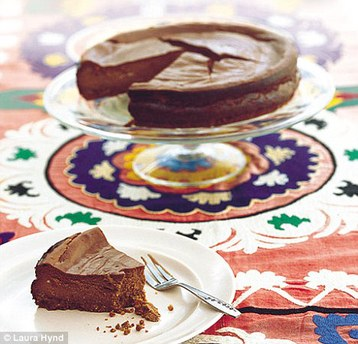 Tana Ramsay's Chocolate Cheesecake
