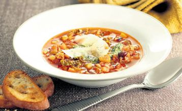 Jo Pratt's Smoked Bacon Minestrone