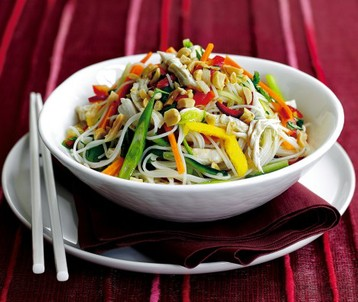 Jo Pratt's Coconut Chicken Noodle Salad