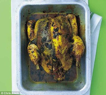Dr Woodson Merrell's Curry Roasted Chicken